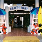 Beach Bash Entrance